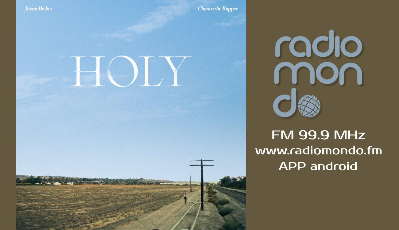 """""""Holy"""" l'inedito di Justin Bieber in onda su radiomondo"""