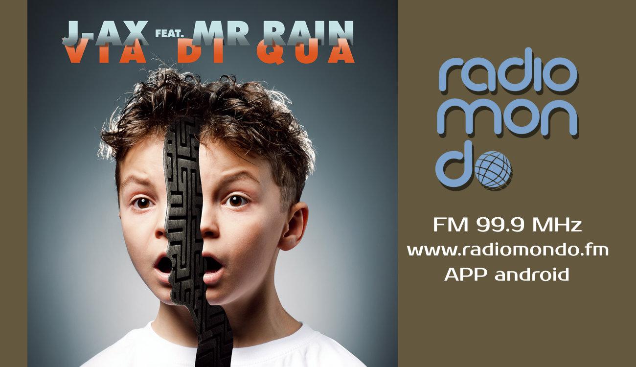"""J-Axfeat.Mr. Rainin radio con """"Via di qua"""""""