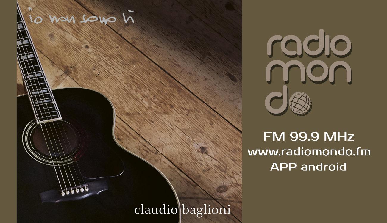 """Claudio Baglioni """"Io non sono li"""" su Radiomondo il nuovo singolo"""