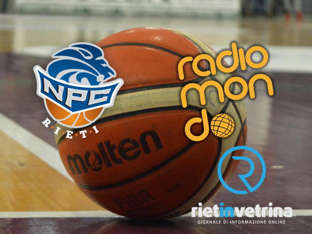 Mercoledi sera 14 aprile su Radiomondo radiocronaca del match Kienergia Rieti – Ferrara