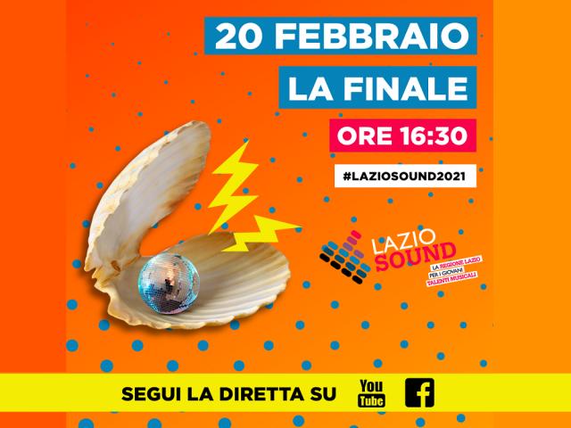 Il 20 febbraio la finale di Lazio Sound in diretta streaming