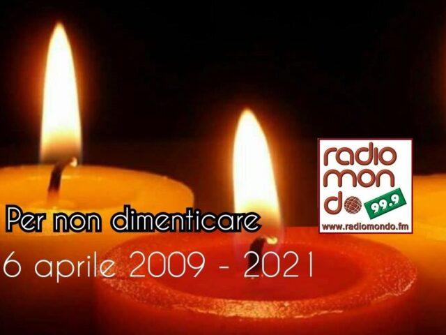 6 aprile 2009 – 2021 Per non dimenticare